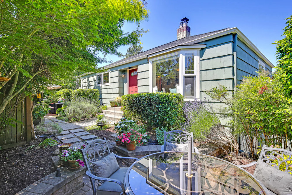 Listing:  4052 SW Charlestown St, Seattle | List Price: $750,000 | Sold Price: $755,000