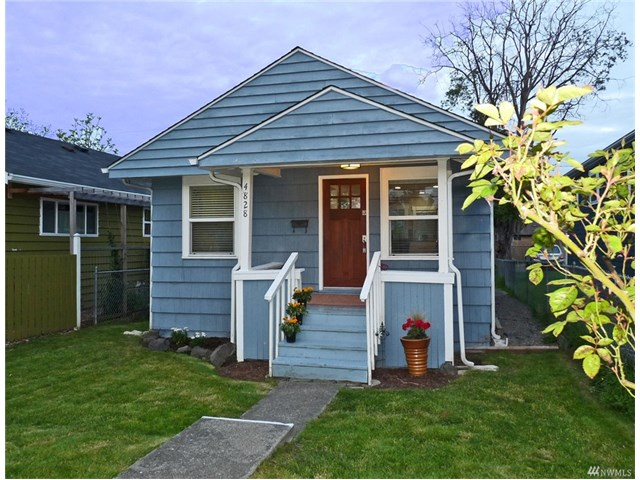 Buying: 4828 49th Ave SW, Seattle | List Price: $450,000 | Sold Price: $504,000