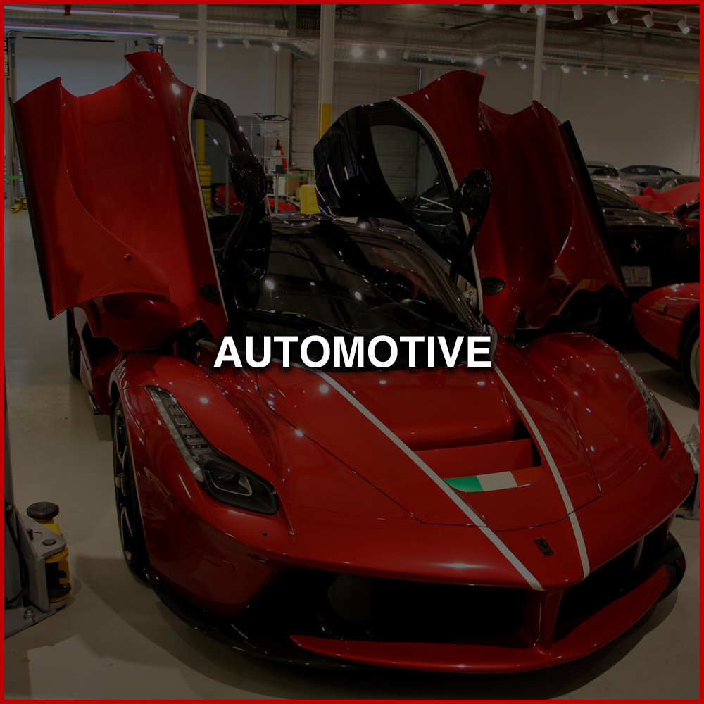 AUTOMOTIVE   Everything from, vehicle wraps, to spot graphics, rally stripes, window banners and much more.   Learn More >>>