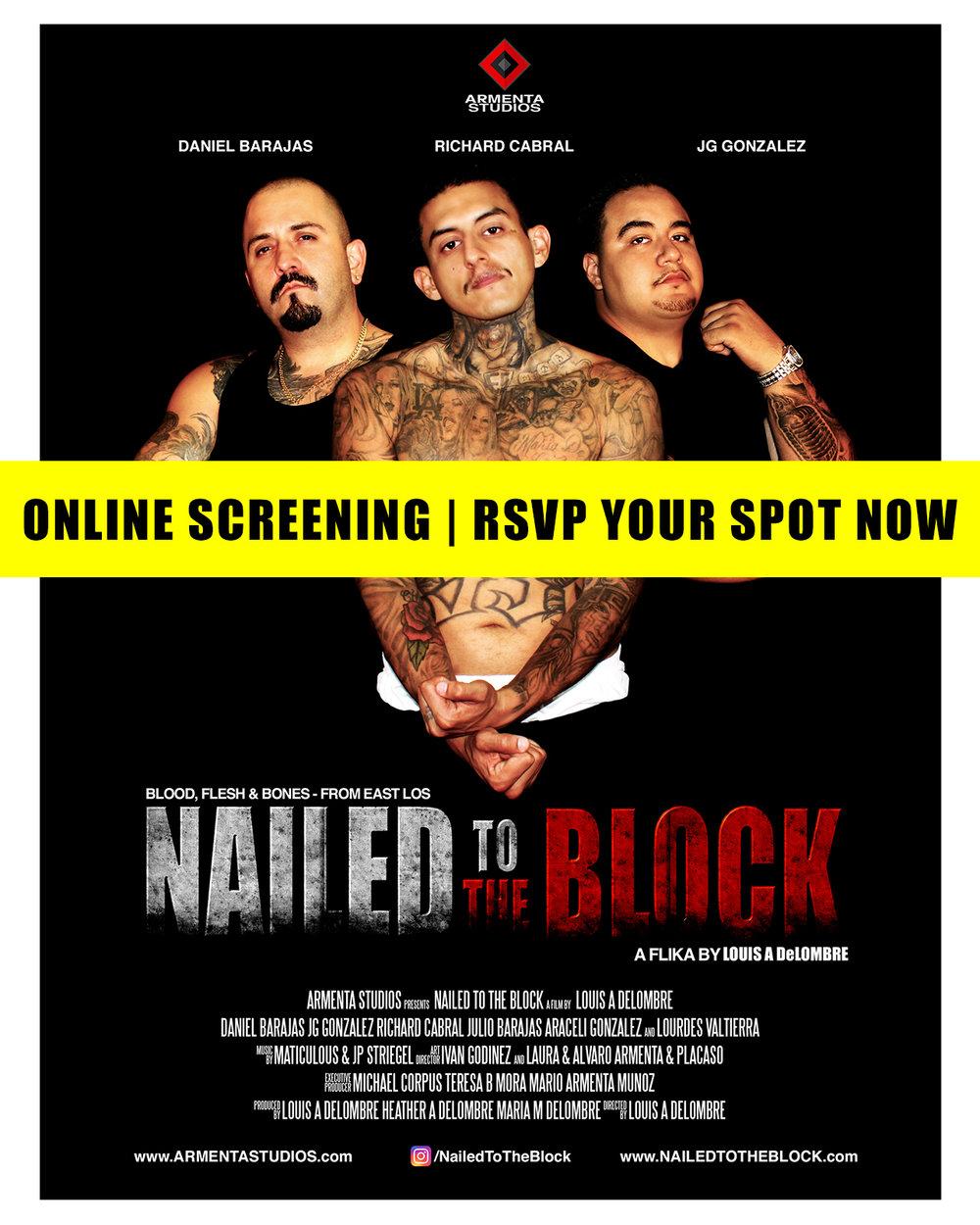 Nailed To The Block Screening