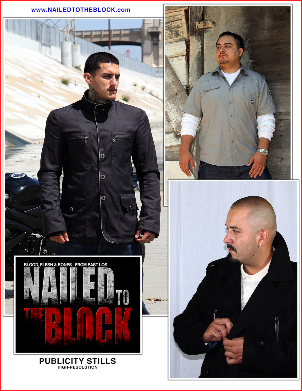Nailed To The Block Publicity Stills