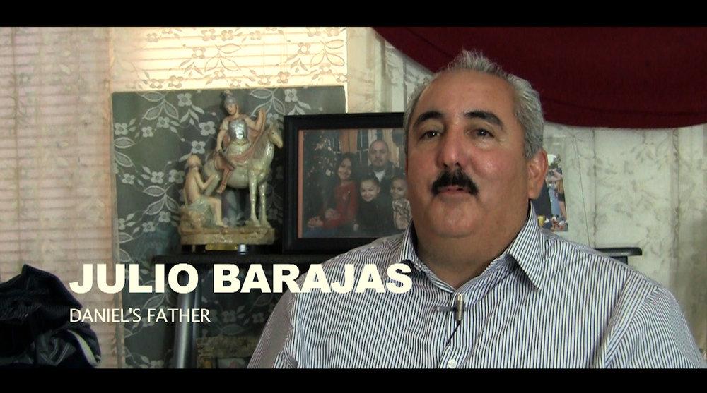 Daniel Barajas Father Julio