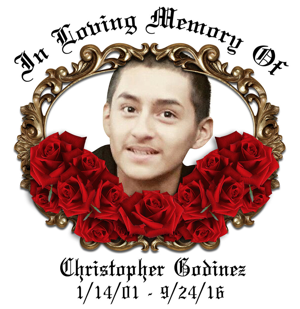 Christopher Godinez RIP