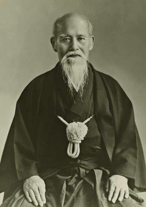 O'Sensei the Founder Morihei Ueshiba
