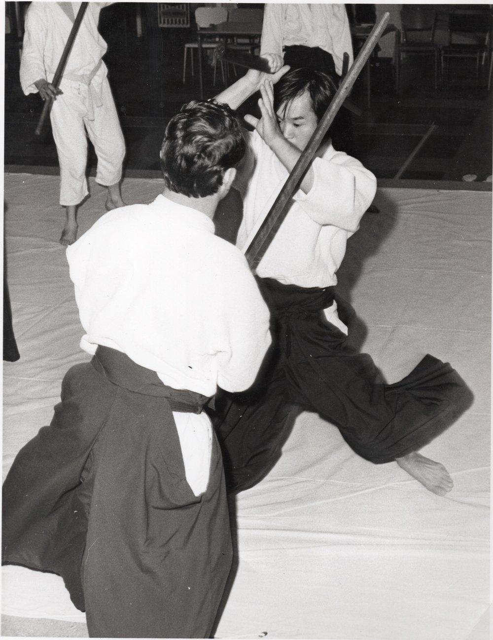 Chiba Sensei & Bill Smith