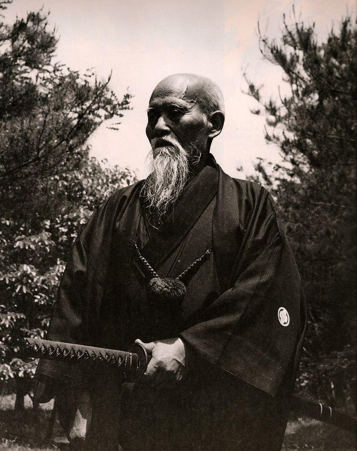 Morihei Ueshiba  (植芝 盛平  Ueshiba Morihei , December 14, 1883 – April 26, 1969)