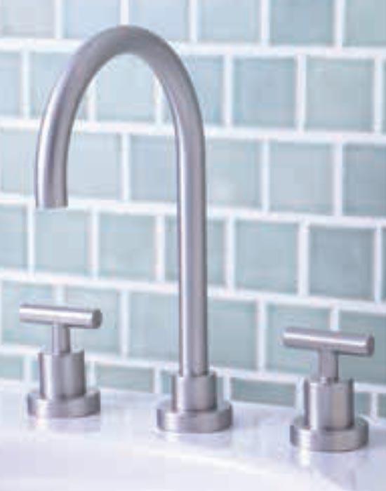 Platinum lavatory faucet