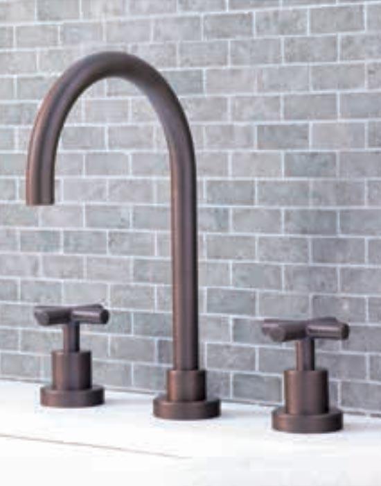 Coco bronze lavatory faucet