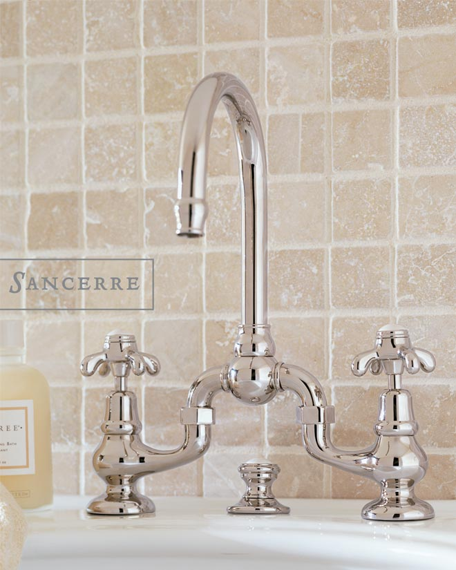 Bridge Lavatory Faucet with Handle 481