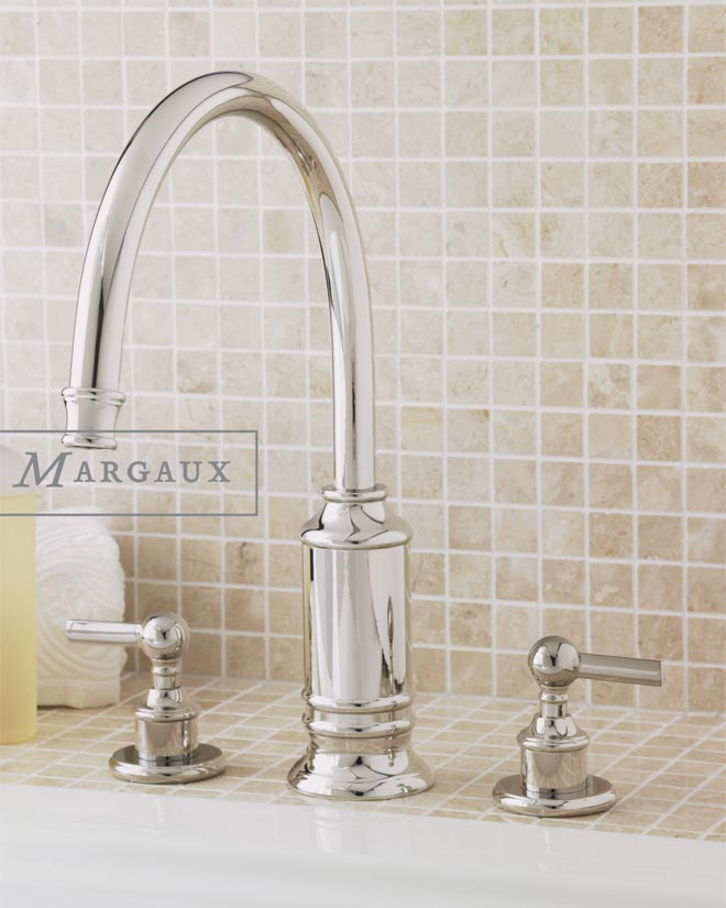 Roman Tub Faucet with Handle 158