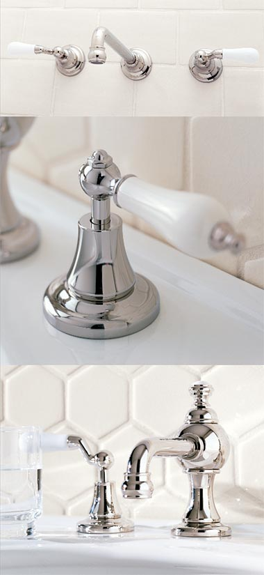 Wall Vessel Set with Handle 482  Handle 465  Lavatory Faucet with Handle 482