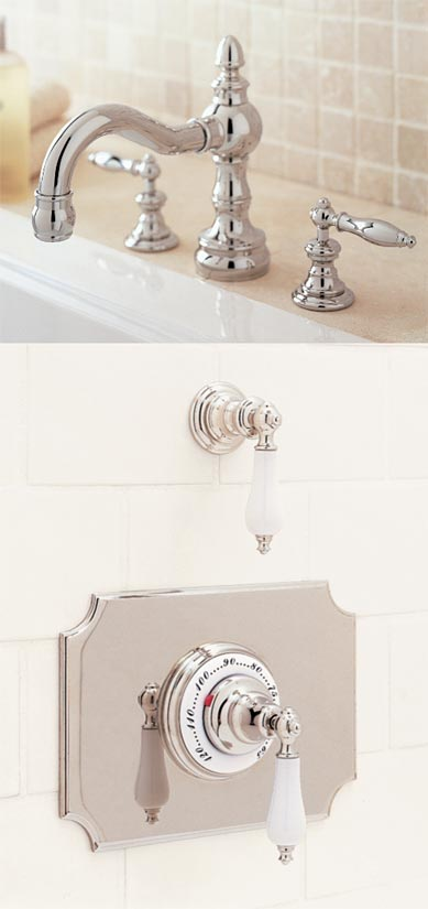Roman Tub Set with Handle 026  Thermostatic Set with Handle 025