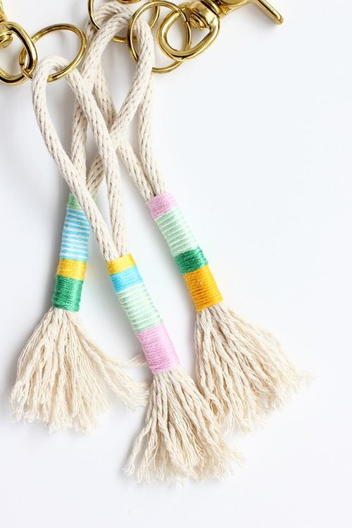 """Tassel Mad - The Tassel, originating from the Latin word """"tassau', which refers to a clasp at the neck of a garment, has often been associated with power and prestige. These contemporary fashion accessories have a long history of adorning people, objects and the home.Using a variety of yarns, ribbons and fabric scraps you will combine the unexpected with the unusual, or the lavish with luxurious to create textural tassels for fashion accessories and/or home interior decoration. These tassels could be used for tassel garlands, bag charms, trims, necklaces and/or earrings.You can bring your own fabrics, yarns, flosses, and threads to work with, and combine with the yarns and fibres we have available, or you can just turn up - We have a vast stock of materials and yarns that you can use during the workshop.Cost: 3 hours £45"""