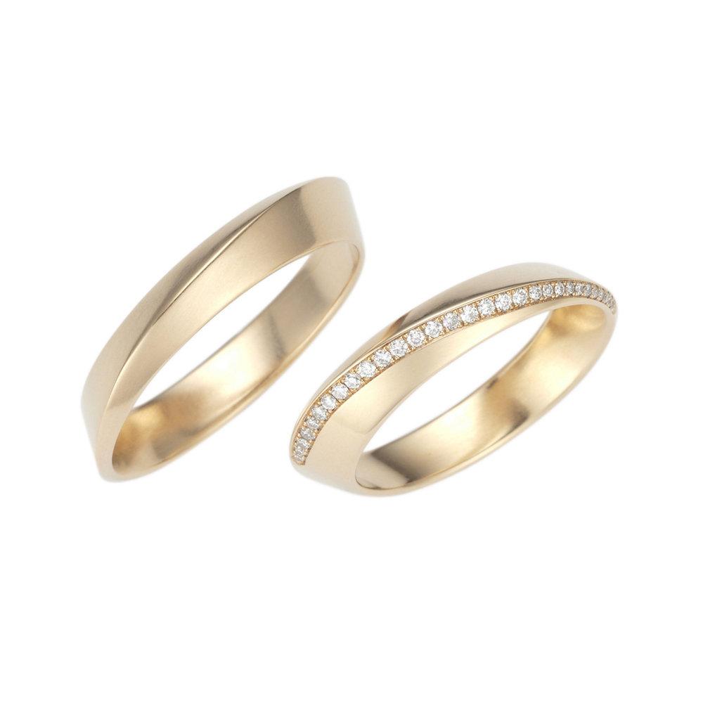 Ring 'Diagonal'