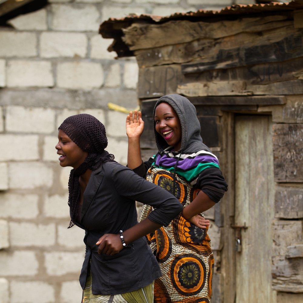 young women informal shelter.jpg