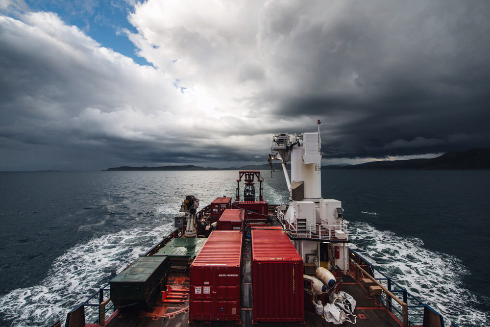 RD2 Sea Trials, NLV Pharos, 2015.