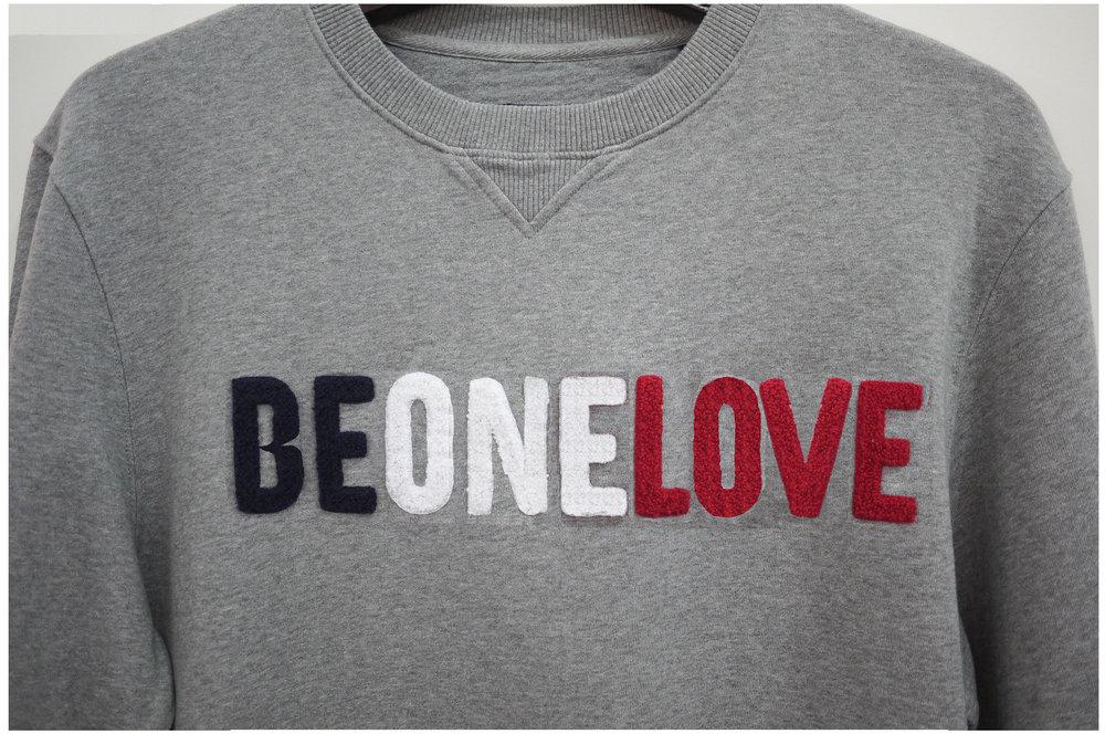 Sweatshirt BE ONE LOVE_TACTILE SURFACES_.jpg