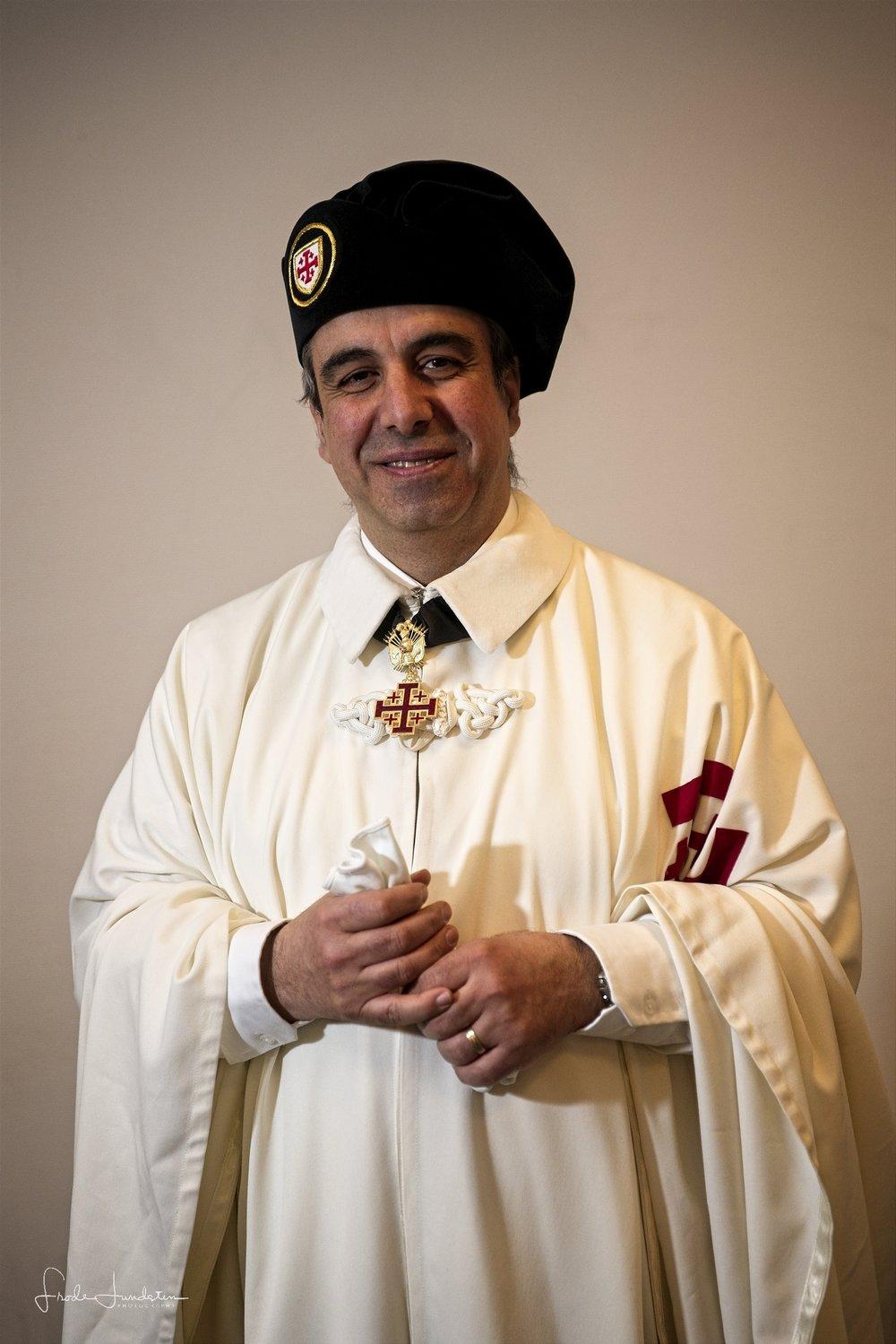 Læg-ceremonimester Joseph Farran KHGO