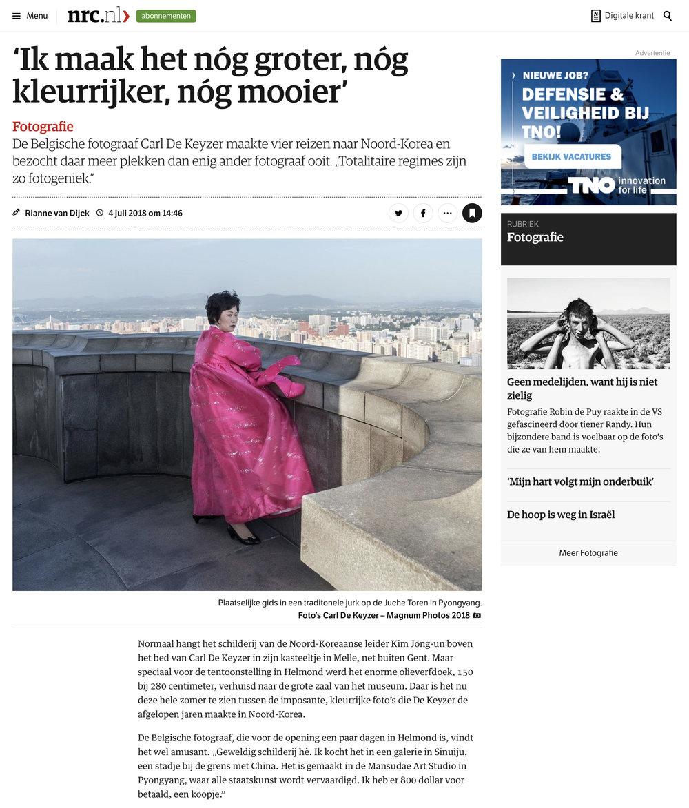 NRC Handelsblad DPRK