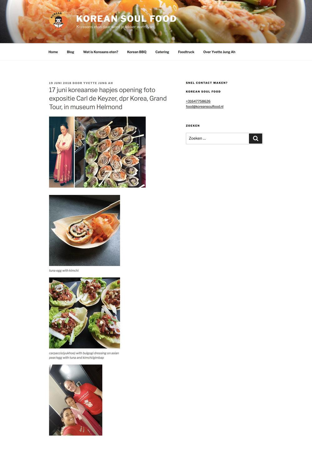Helmond Korean soul food DPRK