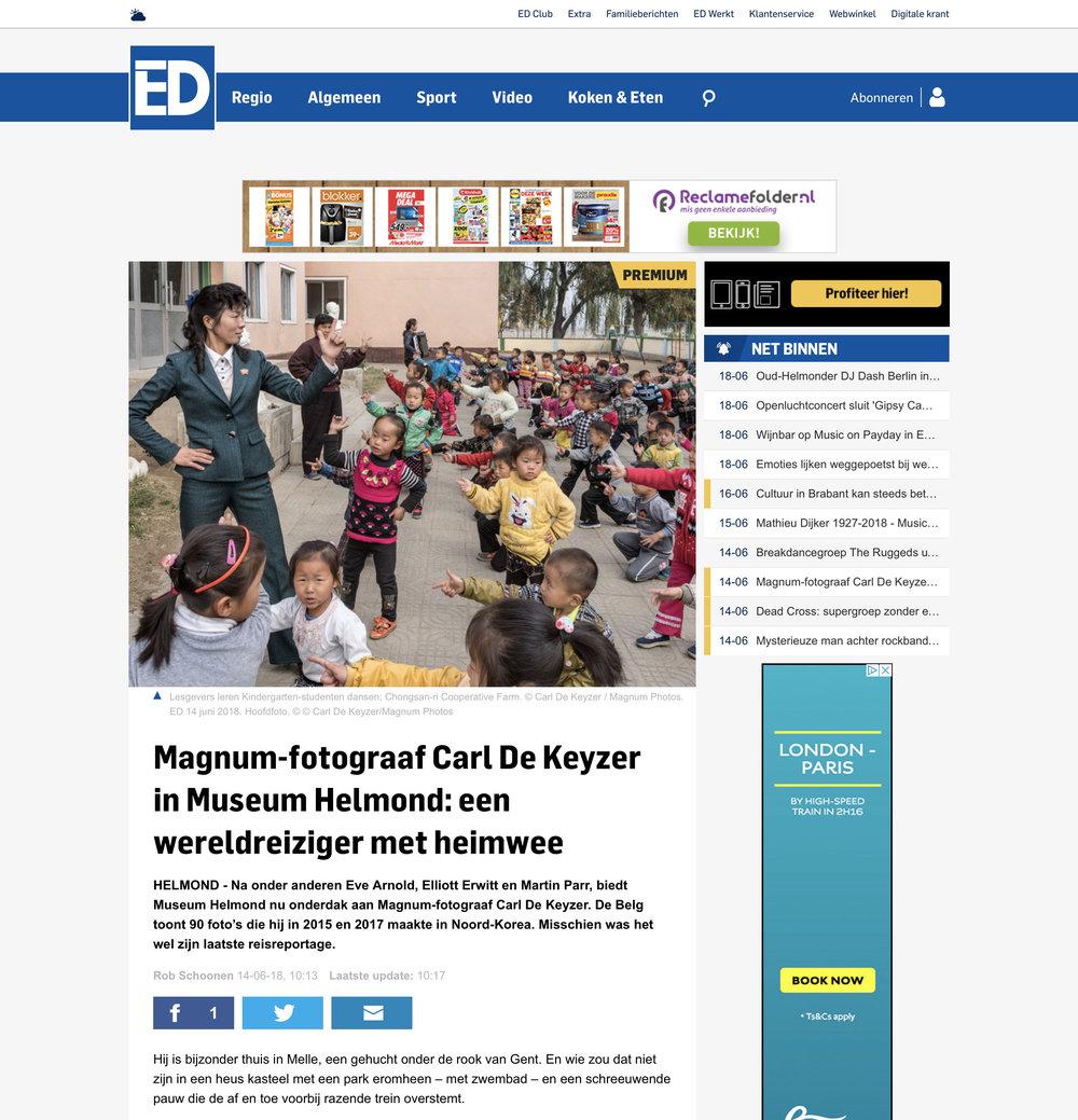 Eindhoven Dagblad DPRK