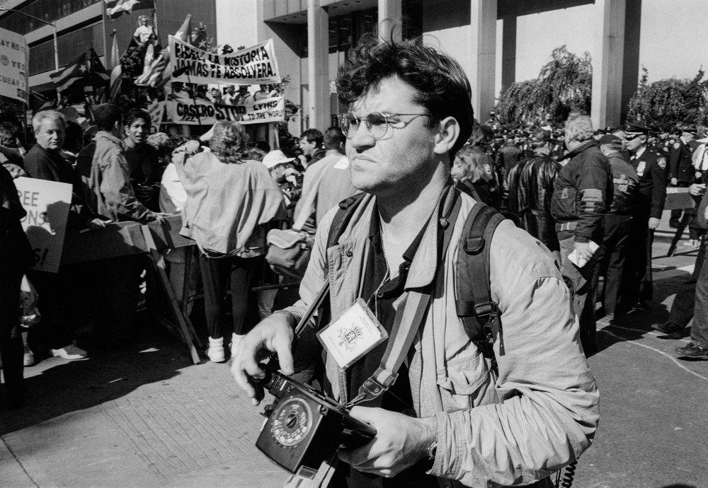 - Image by John Vink. New York 1995.
