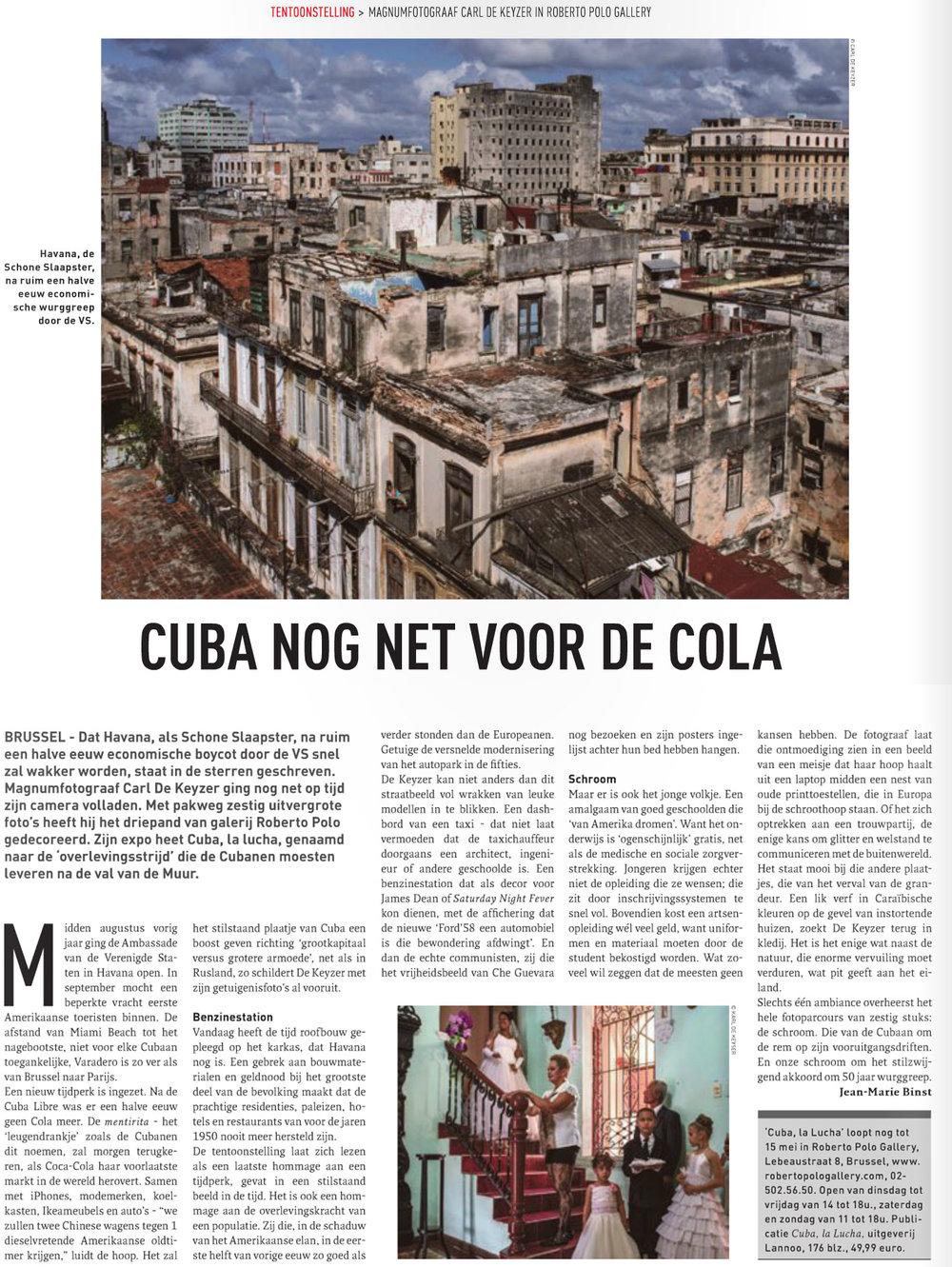 Cuba (Brussel deze week)
