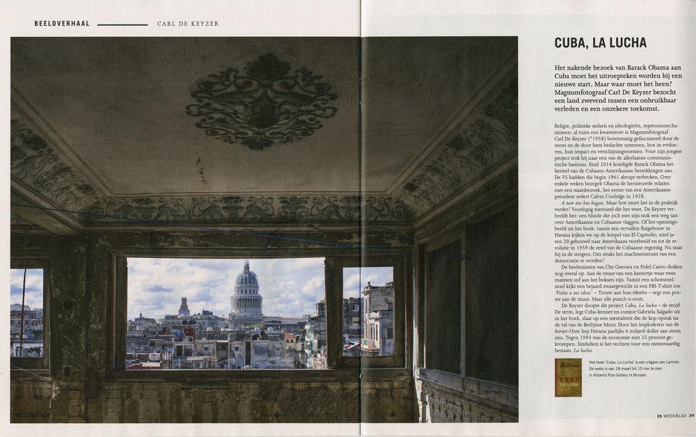 Cuba (De Standaard Weekblad)