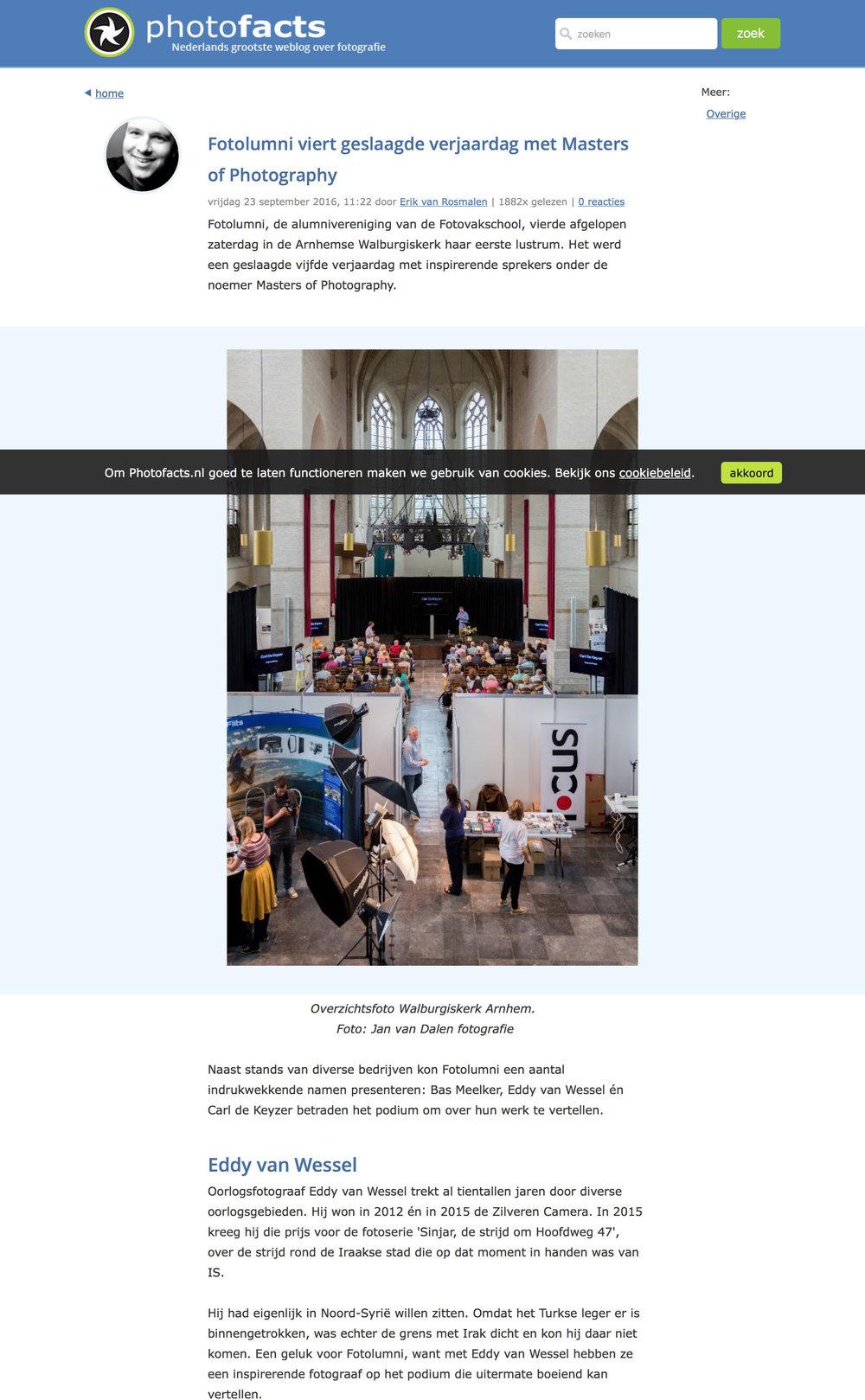Photofacts Arnhem (Lecture)