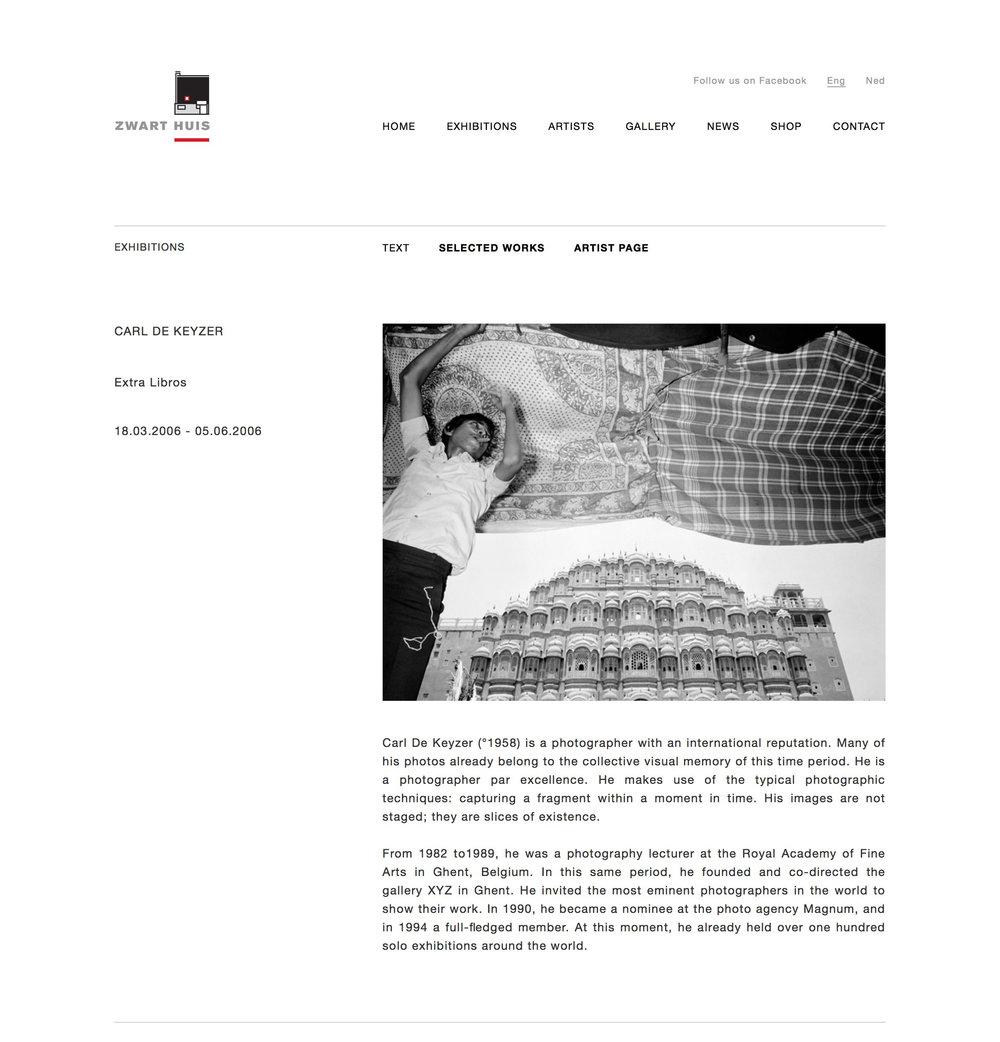 Zwart Huis Knokke (Retrospective)
