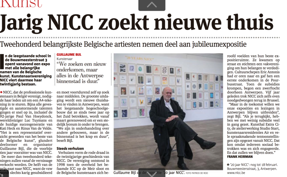 NICC 20 jaar