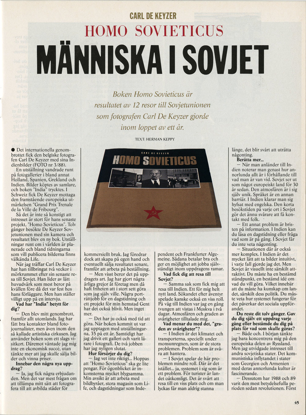 Foto & Video (Homo Sovieticus)