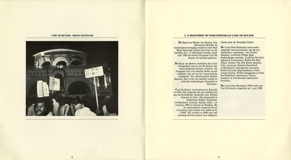 Louis Paul Boon prijs (India)