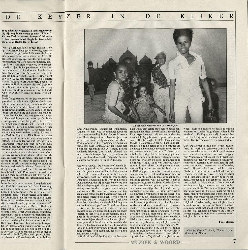 Woord en Muziek (India)