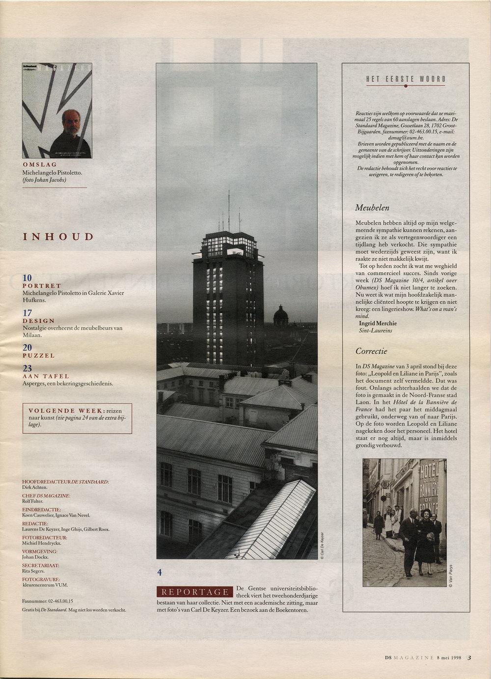 De Standaard (Boekentoren Gent)