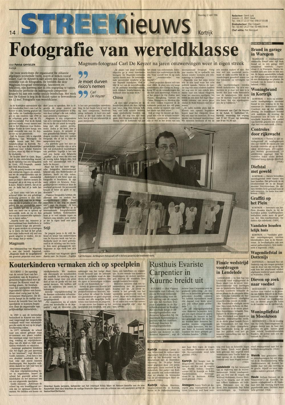 Het Nieuwsblad (East of Eden)