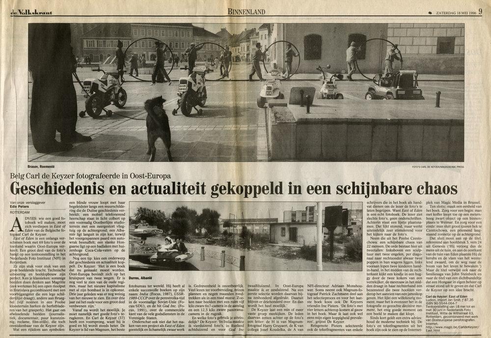 De Volkskrant (East of Eden)