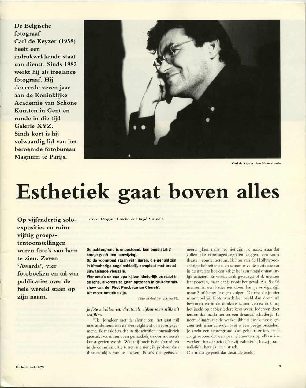 Hollands Licht (Interview)