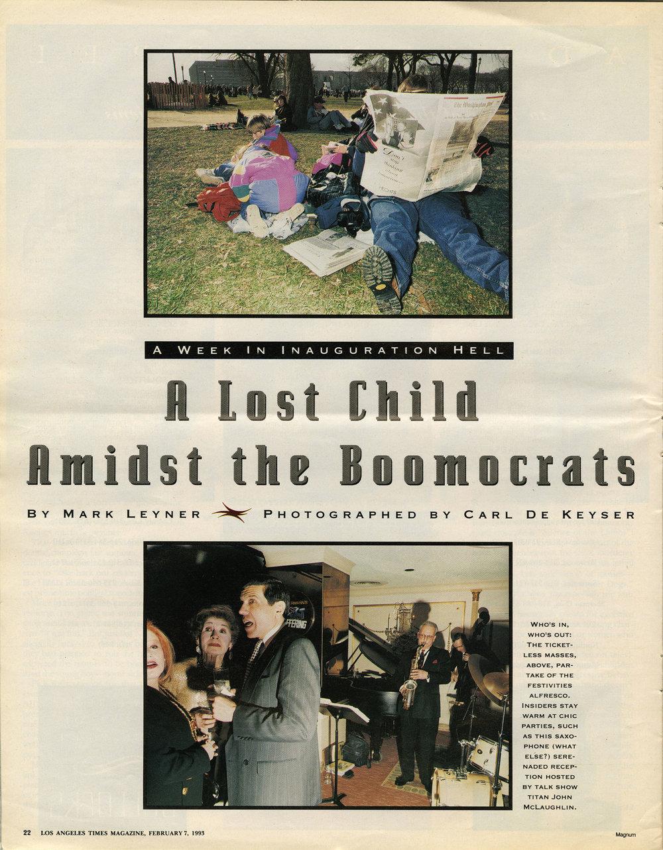 LA Times Magazine (Clinton)