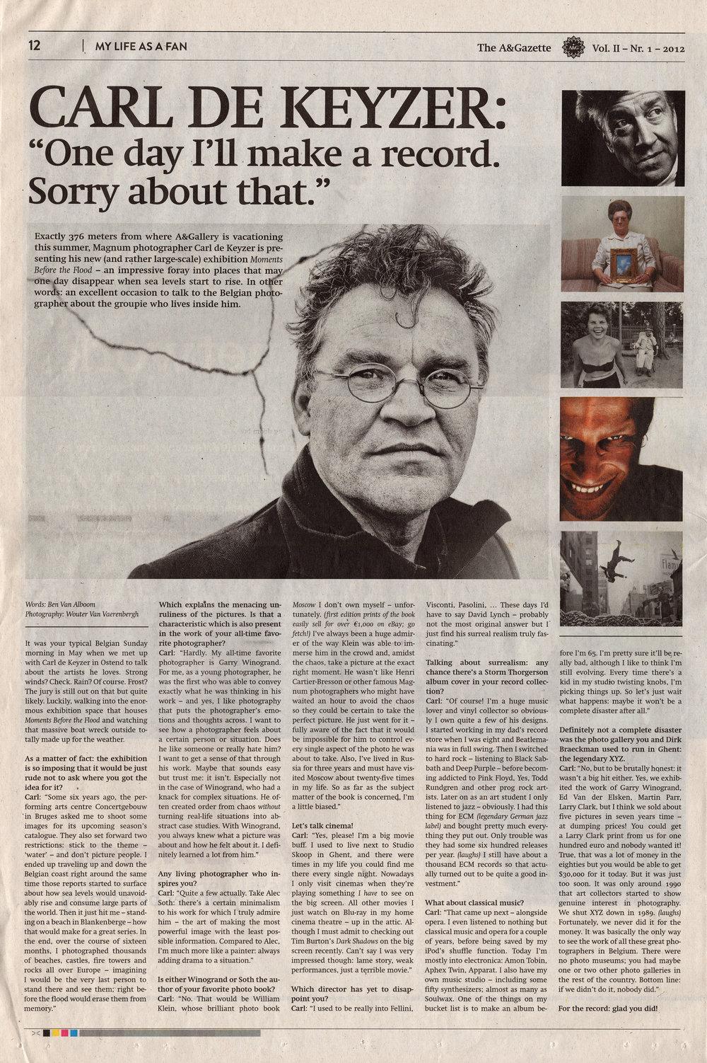The A&Gazette (Interview)