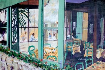 Café in Provence