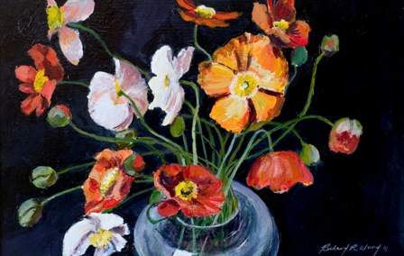 Poppies in Vase ll