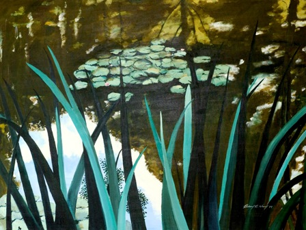 Through the Reeds, Giverny