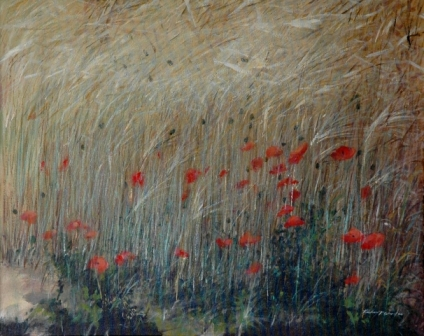 Poppies and Wheat l