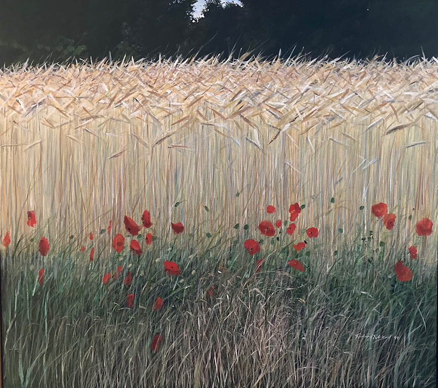 Poppies and Wheat, Le Grand Perray