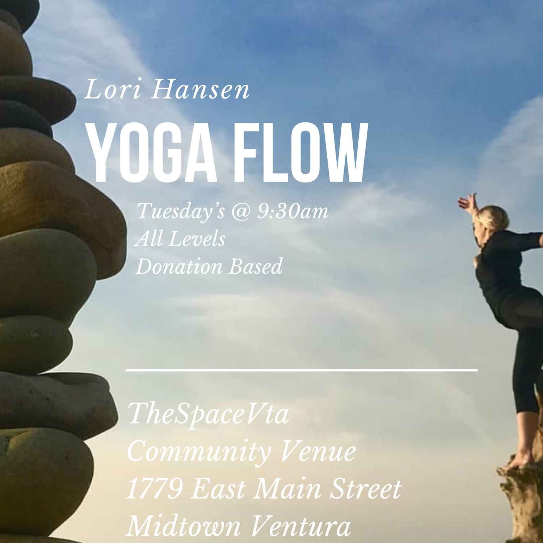 Yoga Flow Donation Based Yoga Class Thespacevta