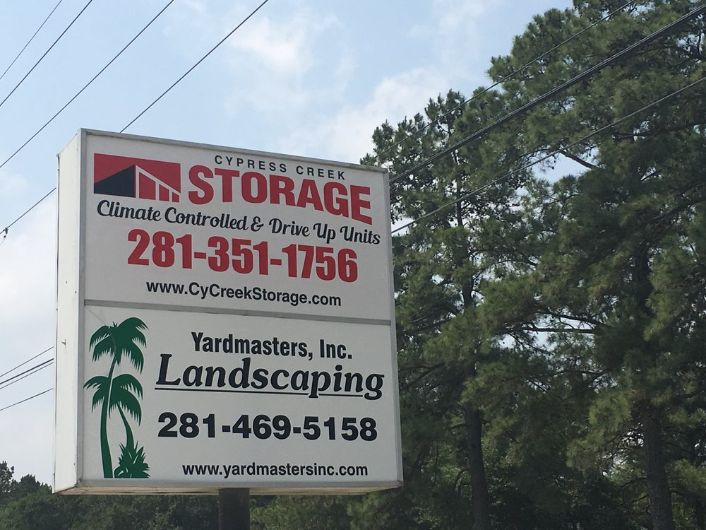 Cypress Creek Storage - Self Storage - Cypress, TX 77429