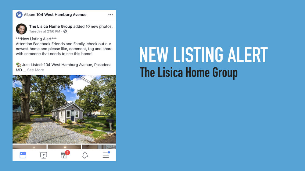 Day 2/3 - New Listing Post