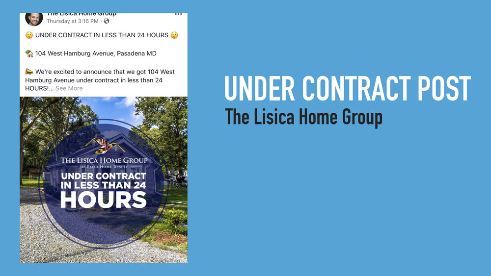 Day Varies - Under Contract Post