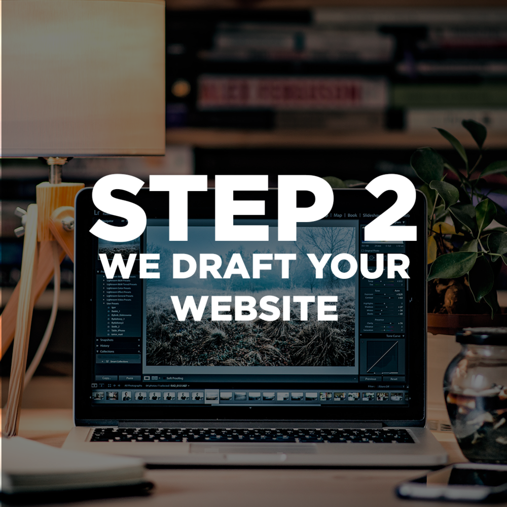 After we meet and understand your business and your priorities, our team goes to work! We create your website from scratch and design each page with your brand in mind. Everything we do on your website is yours. There are no hidden contracts or fees. You own your website!